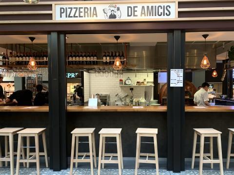 Pizzeria de Amicis er åbnet i Lyngby Storcenter