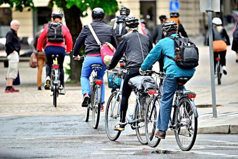 Stötdämpande underlag ska skydda cyklister