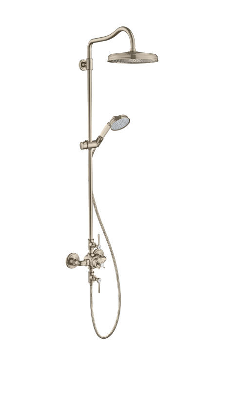 AXOR Montreux Showerpipe brushed nickel