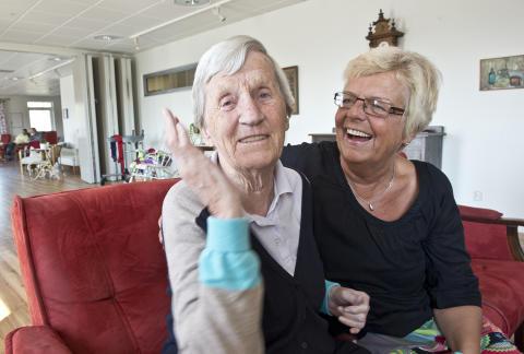 Persgårdens äldreboende i Mörrum är bäst i Sverige!
