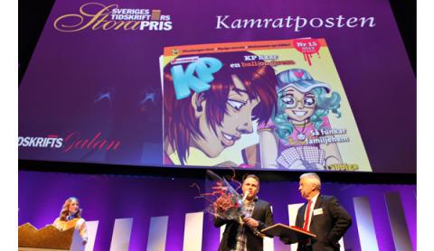 KP fick Sveriges Tidskrifters Stora Pris