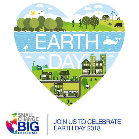 Vi gør en indsats for planeten og fejrer Earth Day 2018