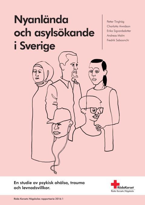 Ny forskningsstudie: Utbredd psykisk ohälsa bland flyktingar och nyanlända