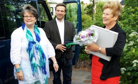 Birgitta Jönsson, Fredrik Löfqvist och Margareta Pålsson