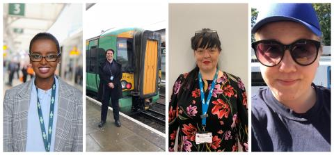 The Women of Govia Thameslink Railway - case studies