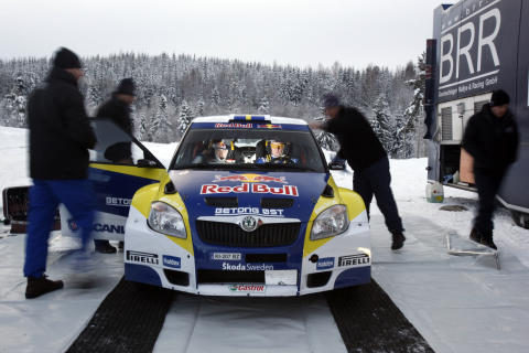 Sandell och Axelsson finslipar VM-formen i Norge