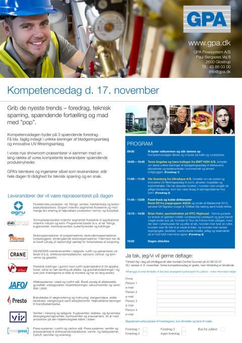 Kompetencedag d. 17. november 2016