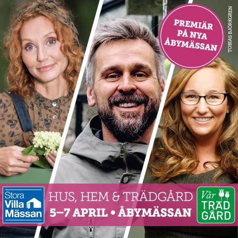 Premiär i Göteborg för Stora Villamässan & Vår Trädgård!
