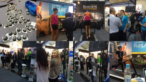 We have a great time at ISPO Münich.