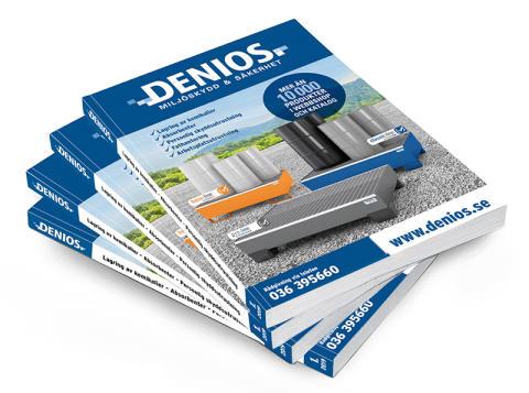 DENIOS nya katalog 2019  - Med nyheter för miljösmart och säker arbetsplats