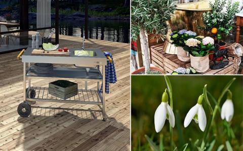 Kolla in uteköket Purus Garden på Trädgårdsmarknad i Helsingborg