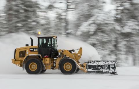 Cat 930M - vinter
