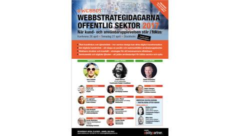 Webbos 2017 - webbstrategidagarna för offentlig sektor