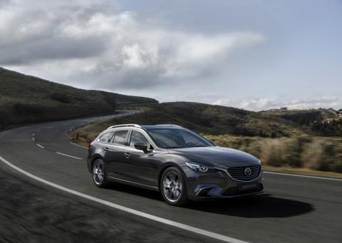 2017 Mazda6 lanseres denne høsten