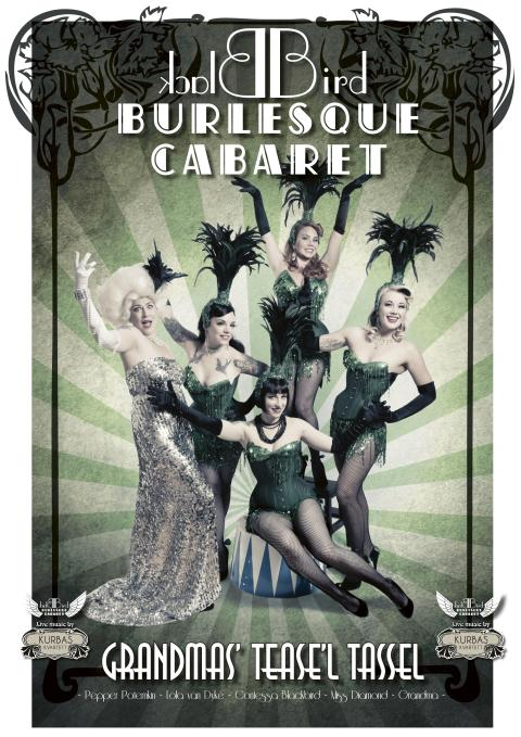 Hamburger Börs presenterar: Blackbird Burlesque Cabaret den 15 september