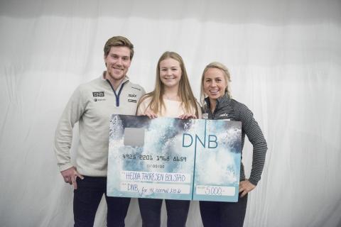 DNB stipend Hedda Bolstad