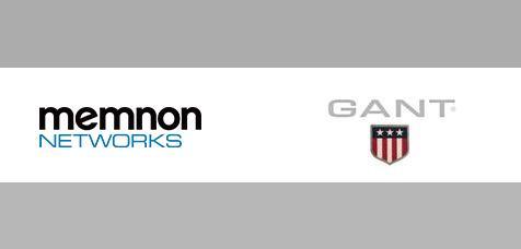 GANT och Memnon Networks utökar sitt samarbete