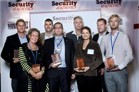 Vinnarna av Security Awards