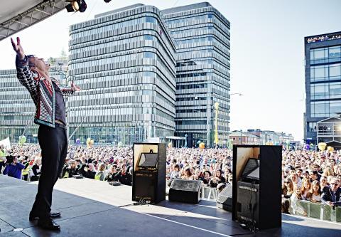 10 000 deltok på åpningen av Clarion Hotel & Congress Malmö Live