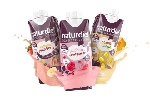 Naturdiets populära smoothies kommer nu med nytt förbättrat recept!