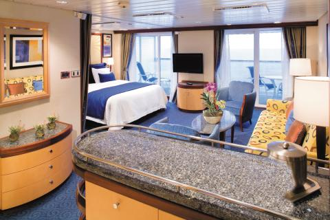 Freedom of the Seas Grand Suite hytti