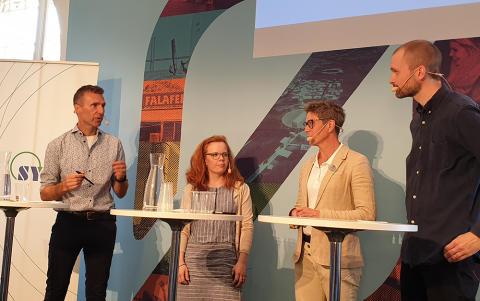Hur kan Sverige bli världsledande på textilåtervinning? - sammanfattning av almedalsseminarium