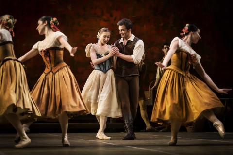 Romantisk Giselle i koreografi av Makarova