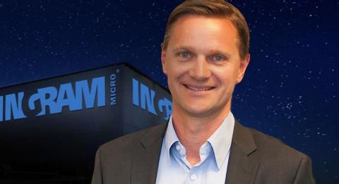 Nordisk sjef i Ingram Micro Ulrich Egeskov er intervjuet av IDG