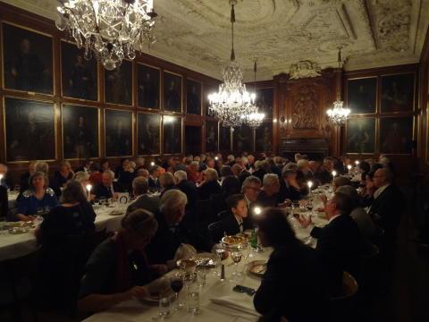 Povel Ramel-sällskapets medlemskväll på Riddarhuset