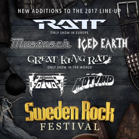 ​Sweden Rock Festival presenterar ytterligare sex akter