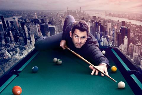 Premiär: Ronnie O'Sullivan's American Hustle