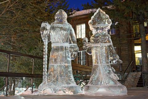Nyttår i Sibir!