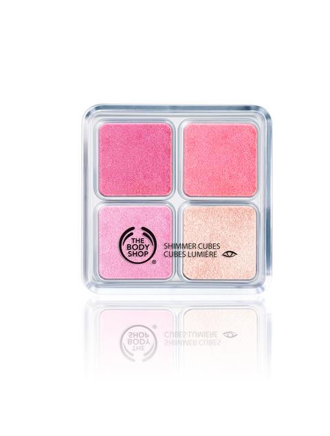 Shimmer Cubes Pink