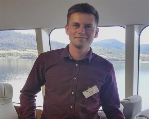 MARTEC maskinmesterstuderende modtager prestigefyldt legat på Tasmanien