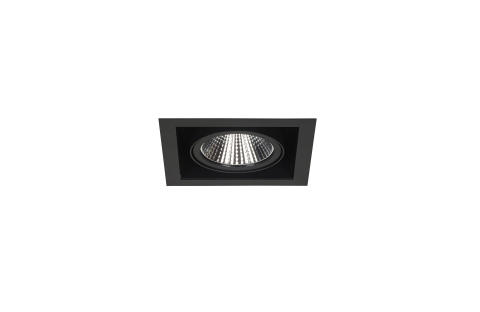 Fagerhult Touch Midi Recessed Black Fixed