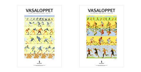 Mia Malmlöf har skapat Vasaloppets konstverk 2019