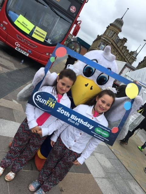 Go North East drives support for Sun FM