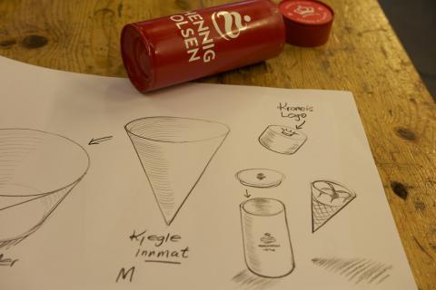 Design av sylinder