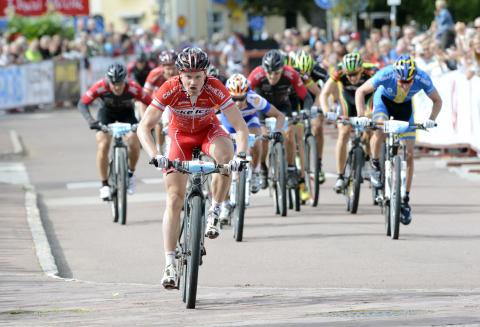 CykelVasan 2012 spurtsegrare Jesper Dahlström