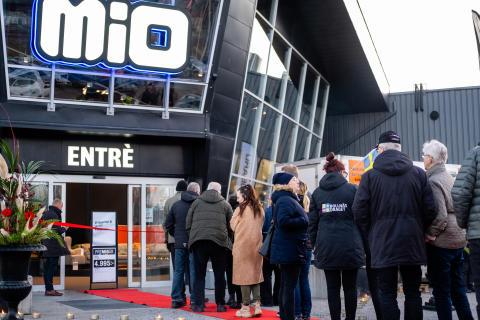 Dubbelöppning – succé när Mio öppnade i Bollnäs och Linköping