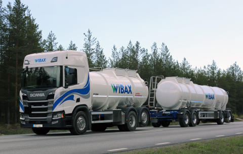 Wibax Logistics investerar i nya tankbilar