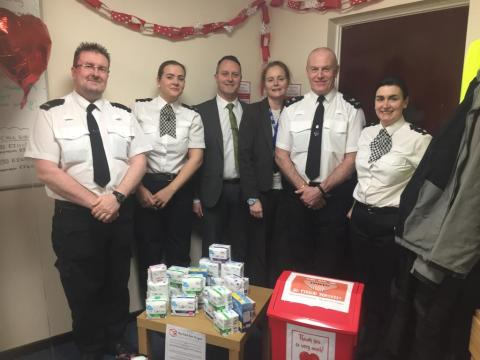 """Merseyside Police launch """"The Red Box Project"""" on International Women's Day"""