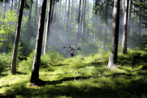 Mini-helikopter revolutionerar mediebranschen