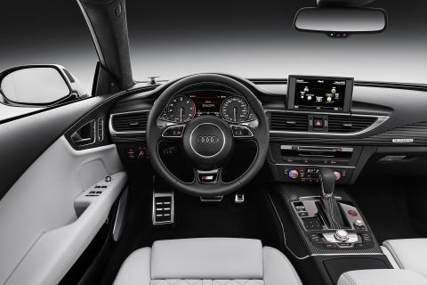 Audi S7 Sportback - interiør