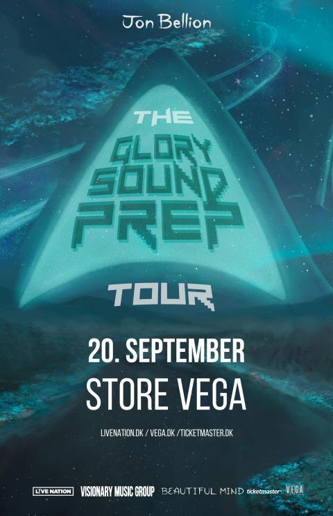 Jon Bellion kommer til Store VEGA på sin The Glory Sound Prep Tour.