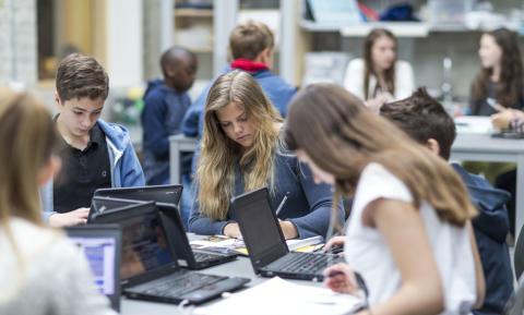 Fler elever blir behöriga till gymnasiet på Kunskapsskolan