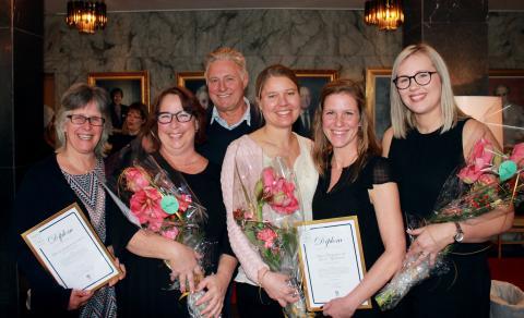 Vinnarna av Pedagogiska priset 2017