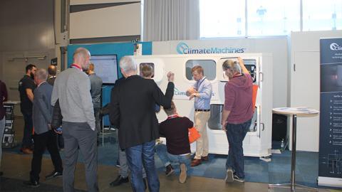 Stort intresse under Nordbygg för ClimateMachines™ luftbehandlingsaggregat