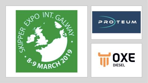 Visit OXE Diesel distributor Proteum at Skipper expo int. Galway, 8-9 March