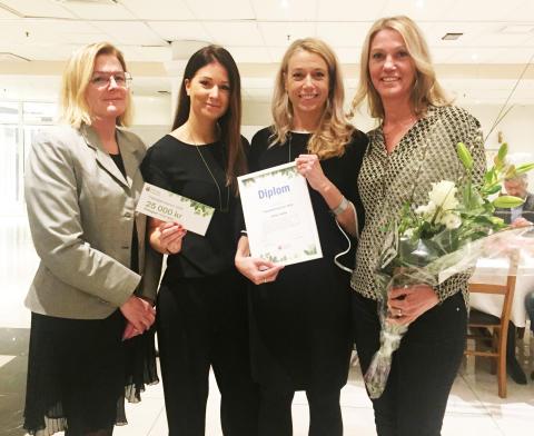Sveriges mest tillgängliga hotell tar hem vinsten i Haninge Kommuns tillgänglighetspris!